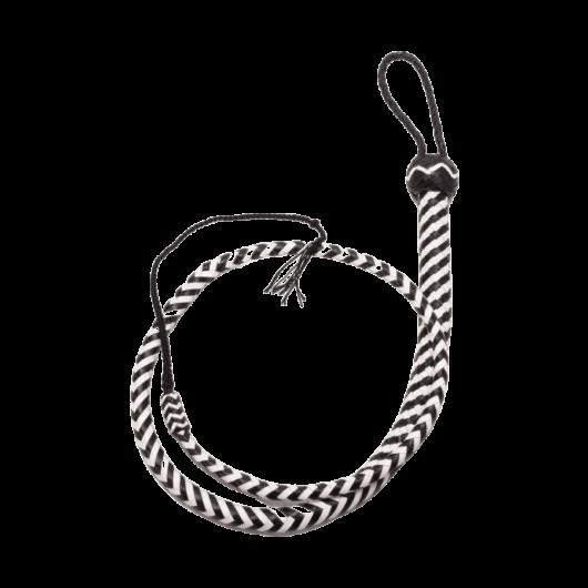 Heavy Handle Whip 48 inch - bizalmi játékok fetish kelléke