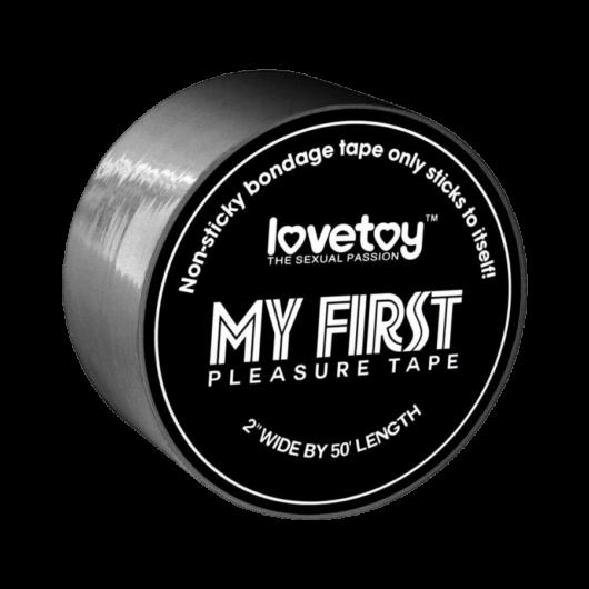 Lovetoy - My First kötöző (szürke) - minőségi kötöző PVC anyagból