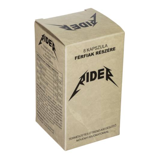 Rider - 8db kapszula - alkalmi potencianövelő