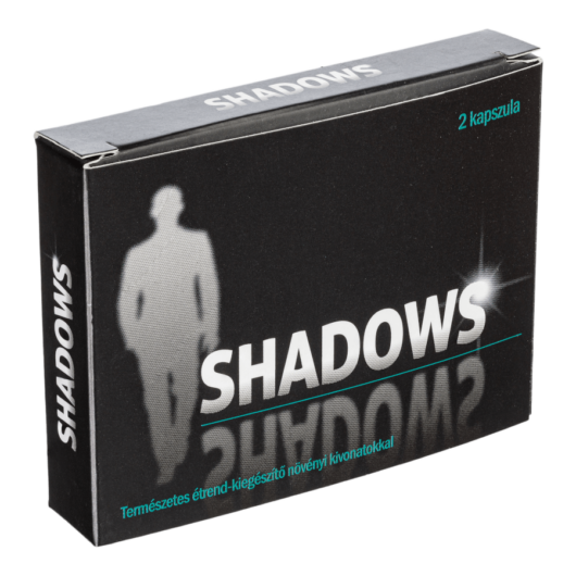 Shadows - 2db kapszula - alkalmi potencianövelő