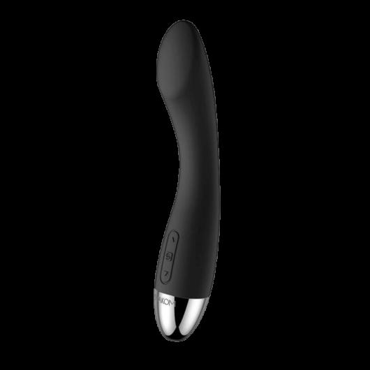 Svakom Amy - akkus, G-pont vibrátor (fekete) - prémium vízálló és újratölthető