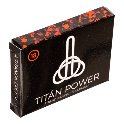 Titán Power - 3db kapszula - alkalmi potencianövelő