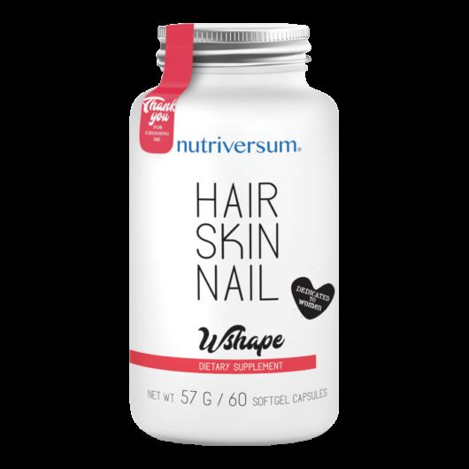 Hair Skin Nail - 60 kapszula - WSHAPE - Nutriversum -