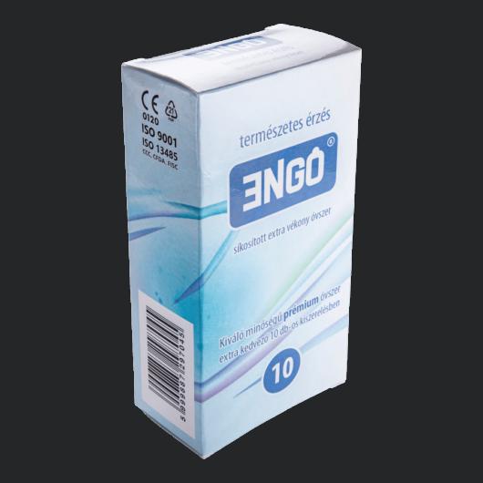 ENGO extra vékony óvszer (10db) - extra vékony prémium minőségű