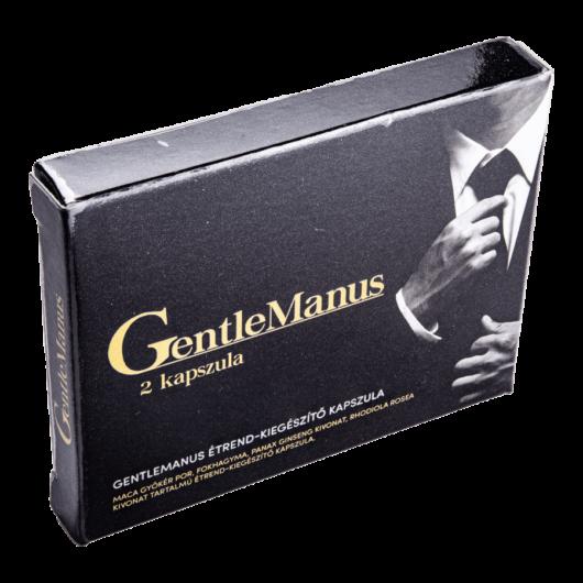 GentleManus - 2db kapszula - alkalmi potencianövelő