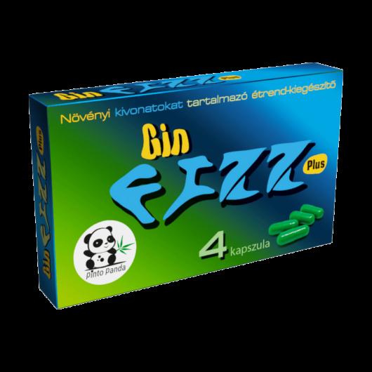 Gin Fizz Plus - 4db kapszula - alkalmi potencianövelő