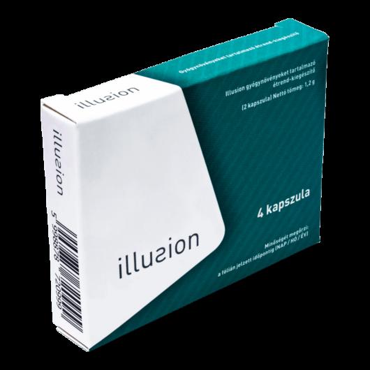 Illusion - 4db kapszula - alkalmi potencianövelő