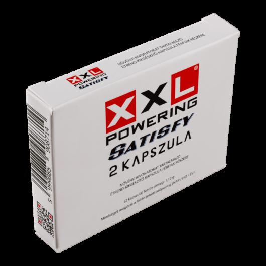 XXL Powering Satisfy - 2db kapszula - alkalmi potencianövelő
