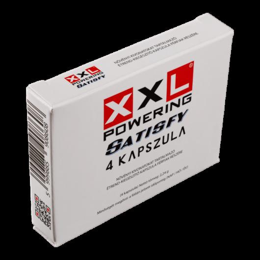 XXL Powering Satisfy - 4db kapszula - alkalmi potencianövelő