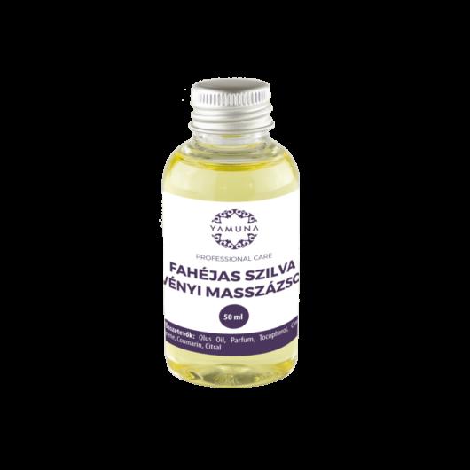 Fahéjas szilva növényi alapú masszázsolaj - 50ml - színezék-, parabén- és paraffin mentes