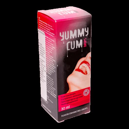 YummyCum csepp - 30ml - sperma íz javító